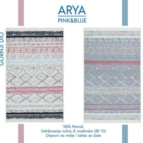 Arya Pink&Blue Tepih