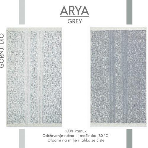 Arya Grey Tepih